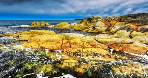 Explore Bay of Fires in Tasmania on your next trip to Australia