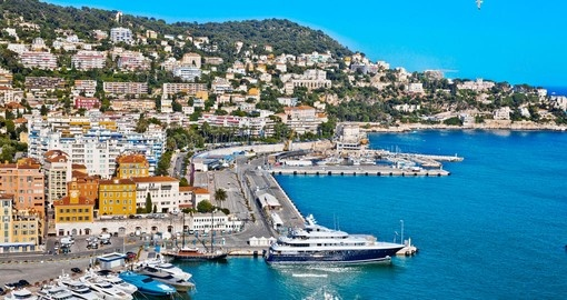 Explore beautiful Nice located on shores of the Baie des Anges during your next trip to France.