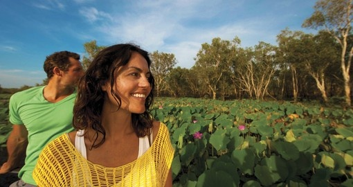 Experience Yellow Water in Kakadu on your next trip to Australia.