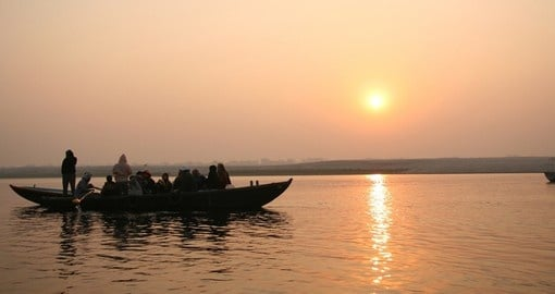 Ganges River cruises is a popular inclusion on India tours.