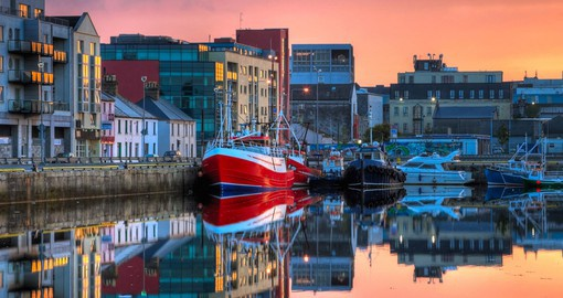 Start your Ireland vacations with a stop at Galway Dock