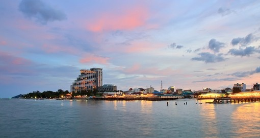 Hua Hin - famous for its beaches is closely associated with Thai royalty and a popular choice for your Thailand vacation.