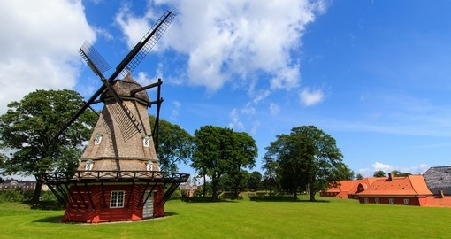 The mill in the kastellet