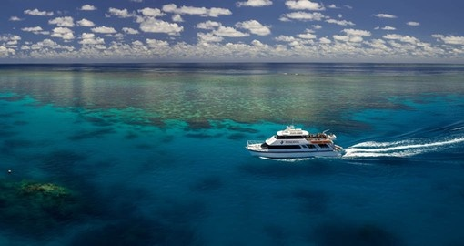 Poseidon takes you to the Outer Barrier Reef on your Australia Vacation