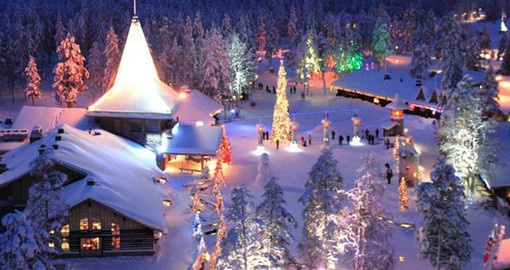 Your trip to Finland visits Santa Claus Village