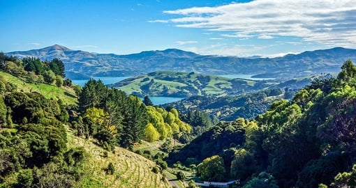 Go for a walk around Akaroa on your New Zealand vacation