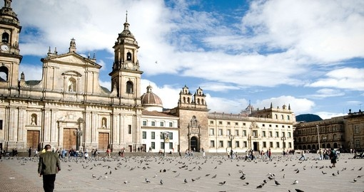 Discover bustling Bogota on your Colombia Vacation