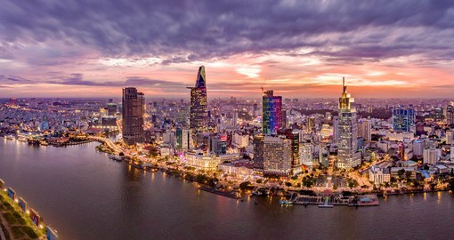 Commonly referred to as Saigon, Hi Chi Minh City is the most populous city in the country