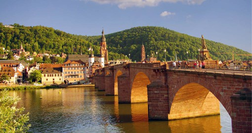 Known for its university and castle, Heidelberg inspired the German Romantic Movement