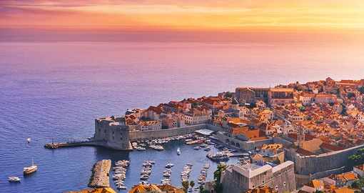 Enjoy exploring scenic Dubrovnik on your Croatia Vacation