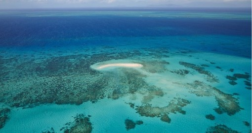 Take a look at the beautiful view of the Great Barrier Reef from Aerial during your next Australia vacations.
