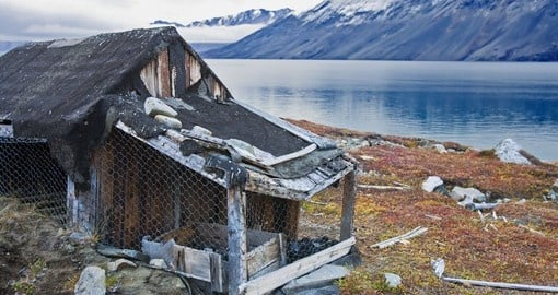 On your Arctic Tour you may be able to explore some of the coastal hut that dot the shoreline