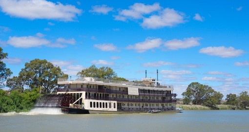 Experience floating along the Murray River during your next Australia vacations.