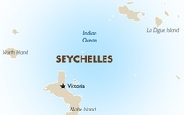 Seychelles Country Map