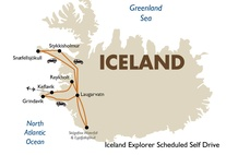 Iceland Explorer Scheduled Self Drive