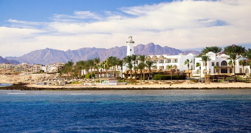 Nestled between the Sinai Mountains and the Red Sea, Sharm El Sheikh is Egypt's premier resort