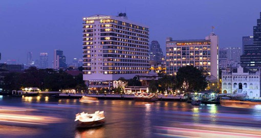 For more than 140 years, travellers have followed the Chao Phraya River to stay at the legendary Mandarin Oriental