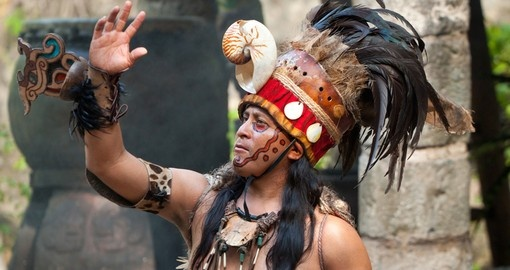 "Mayan performance called the ""Dance of the Owl"""