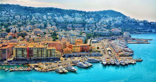With a stunning seaside location, Nice has been a tourist magnet since the 1700s