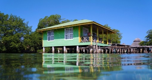 Enjoy the traditional architecture of your resort on your Panama Tour