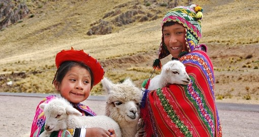 Locals with a Sheep to sell