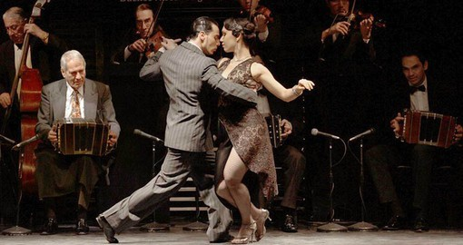 One of the most famous dances in the world, the Tango originating in Buenos Aires in the 18th century