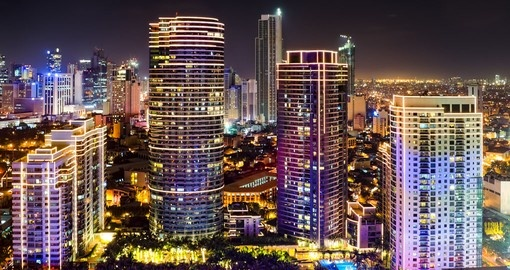 Skyline of Makati