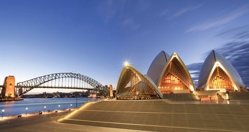 The Sydney Opera House is a must see stop on your Australia Vacation.