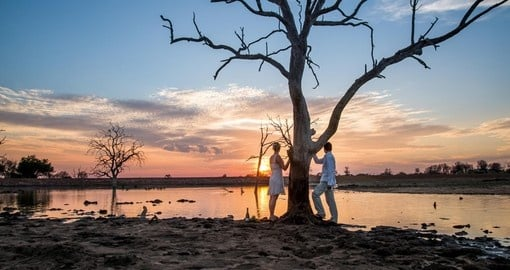 Enjoy a romantic safari getaway