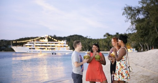 Enjoy amazing Coconut drinks and explore more during your next Fiji tours.