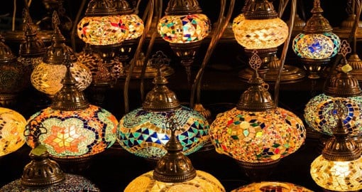 One of the largest and oldest covered markets in the world, Istanbul's Grand Bazaar in home to over 4,000 shops