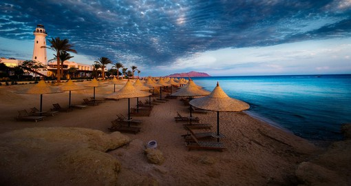 Sitting between the desert of the Sinai and the Red Sea, Sharm el-Sheikh is Egypt's premier resort