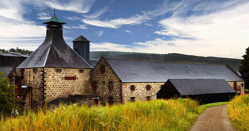 There are over 120 active distilleries spread across Scotland