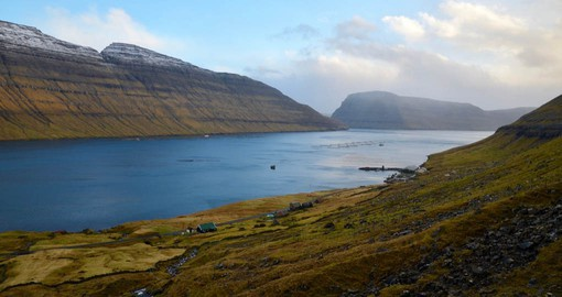 Bordoy, one of the Faroe Islands visited