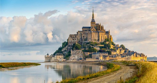A medieval abbey on a fairy tale island render Mont-Sail-Michel one of France's most stunning sights