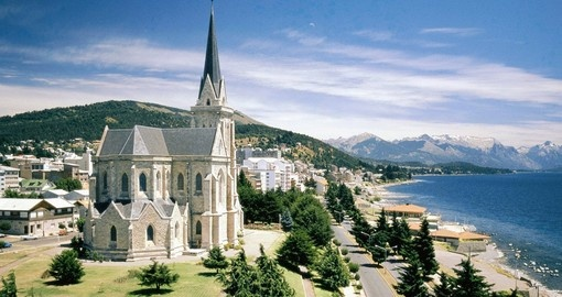 The spectacular setting of Bariloche is a great photo opportunity on your San Carlos de Bariloche tour