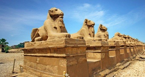 Visit Karnak Temple in Luxor during your next trip to Egypt.