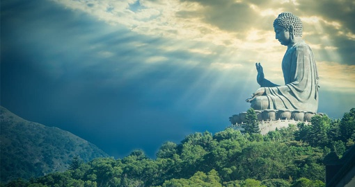 See things from Buddah's prespective on your Hong Kong Tour