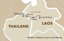 Northern Thailand to Laos via the Mekong