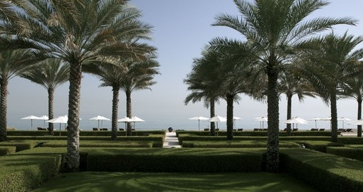 Explore all the amenities of the Chedi Muscat on your next Oman tours.