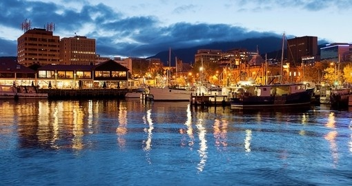 Visit Hobart in Tasmania during your trip to Australia.
