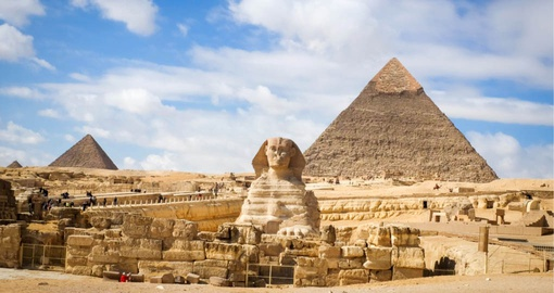 Visit the pyramids on your trip to Egypt