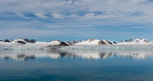 At 22 kilometers Lilliehook Glacier is one of the largest glacial fronts in Svalbard