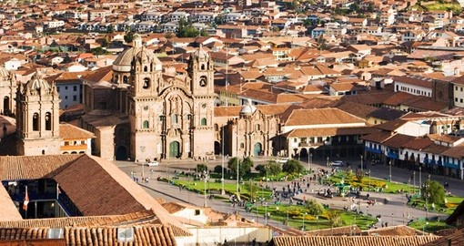 Enjoy being centrally located in Cusco on your trip to Peru