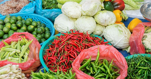 Fresh Ingredients in the Hoi An Market