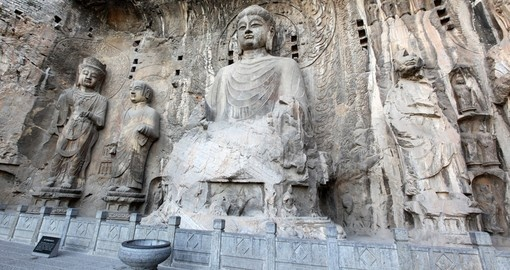 See the Buddha of Longmen Grottoes on your China Vacation