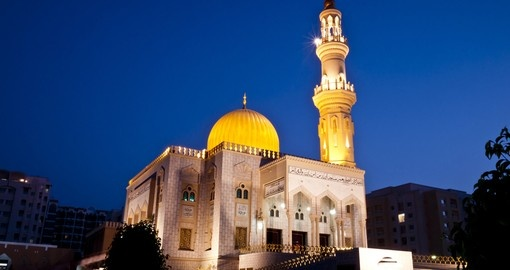 Visit Zawawi mosque in Muscat during your next Oman vacations.