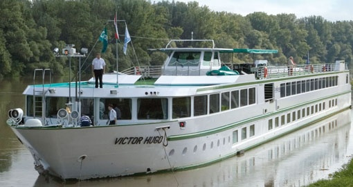 The MS Victor Hugo.
