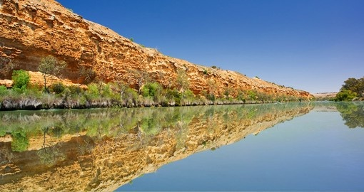 Cliffs on the Murray River