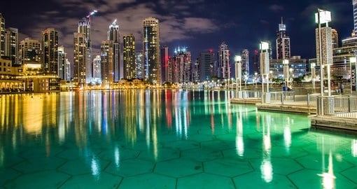 Downtown Dubai is a great place to start your trip to the United Arab Emirates